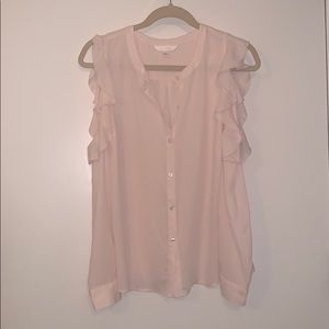 Lauren Conrad Cold Shoulder Blouse